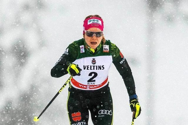 Schwarzwälderin Sandra Ringwald stürzt im Finale – und wird Sechste