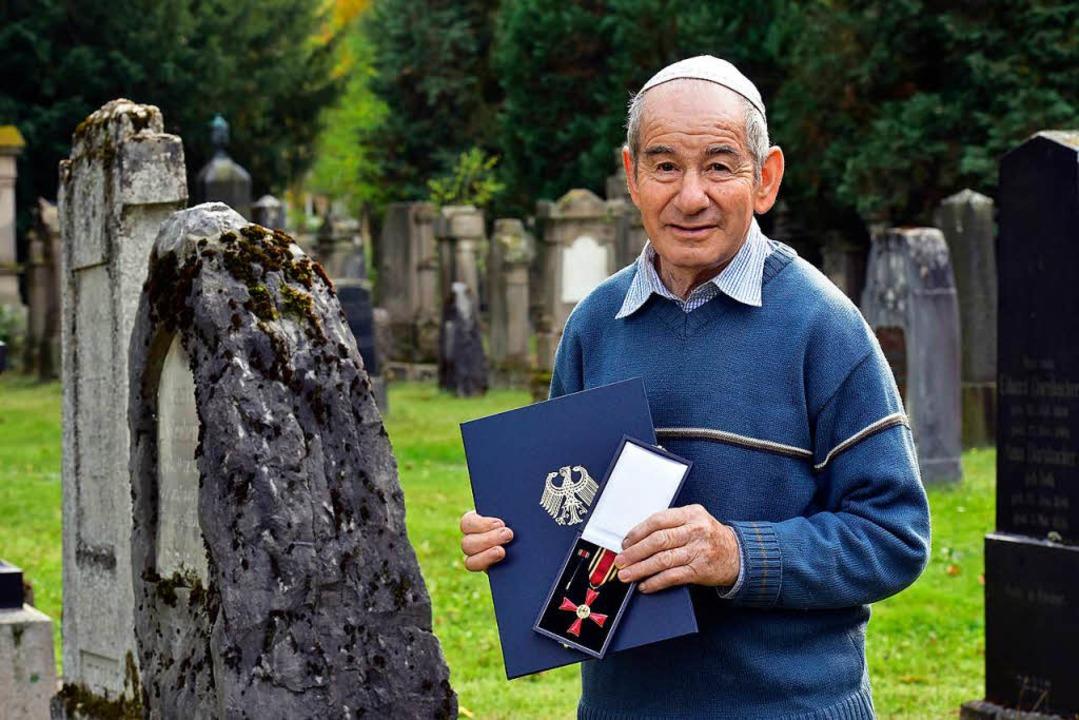 Felix Rottberger, Holocaust-Überlebender.  | Foto: Thomas Kunz