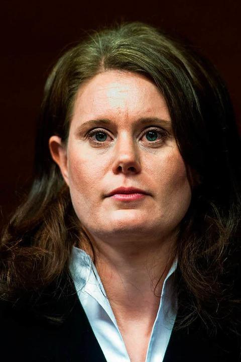 Kathrin Schenk, Vorsitzende Richterin des Mordprozesses Maria L..  | Foto: dpa