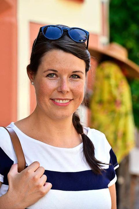 Franziska Aatz, badische Weinkönigin.  | Foto: Thomas Kunz