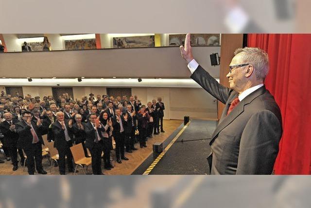 Jürgen Guse ist jetzt Ehrenbürger