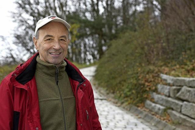 Bereits 100 Mal war Walter Sittig als Gesundheitswanderführer unterwegs