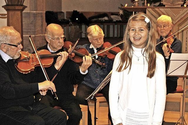 Fröhlicher Gesang zum Nutzen der Jugendarbeit