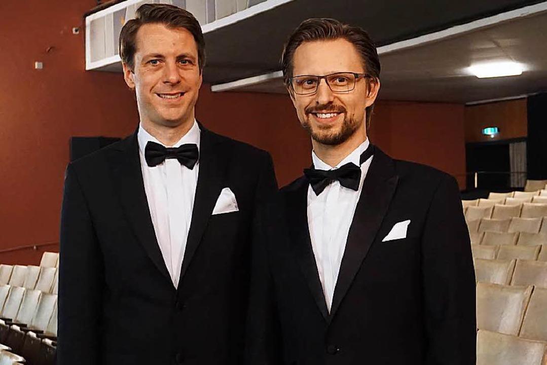 Die beiden Leiter: Jochen Frank Schmidt (li.) und Alexander Dieterle  | Foto: Fritsch