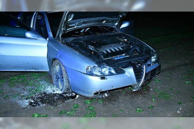 Drei Verletzte nach einem Unfall auf der B 317