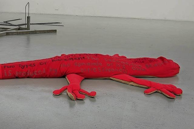 Kunst aus Müll beim Kunstverein Freiburg