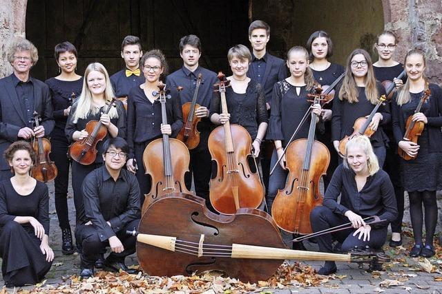 Das Landesjugendbarockorchester gastiert in Grenzach-Wyhlen