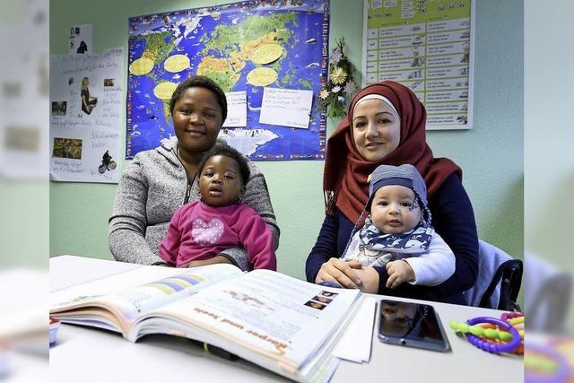 Der bundesweit einzige Berufssprachkurs für Eltern mit Kleinkindern soll Integration erleichtern