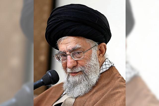 Khamenei sieht Feinde am Werk
