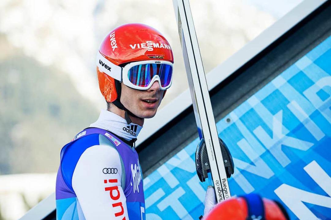 Andreas Wanks Blick in die nahe Zukunf...i Olympiasieger mit dem Team geworden.  | Foto: dpa