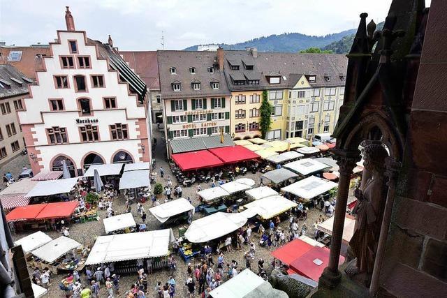Freiburgs Beschicker sind empört über Verlegungen des Münstermarkts