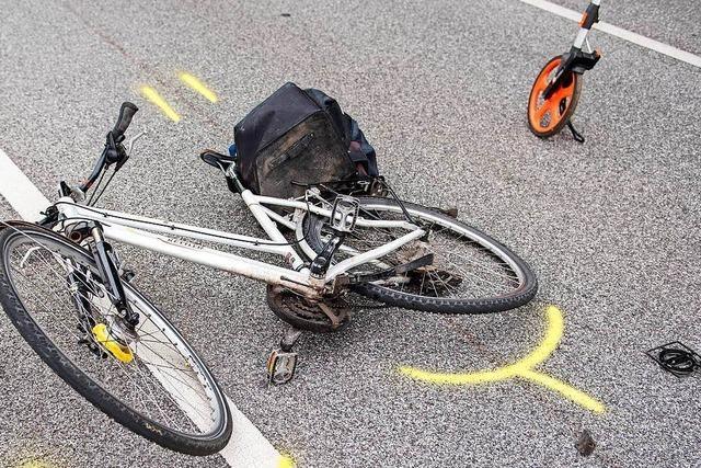 Radfahrerin bei Unfall in Lörrach verletzt