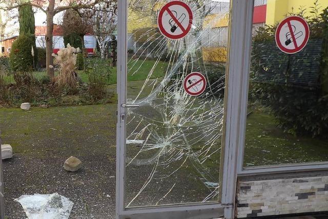 Schwere Sachbeschädigungen an der Wintersbuckstraße in Lörrach