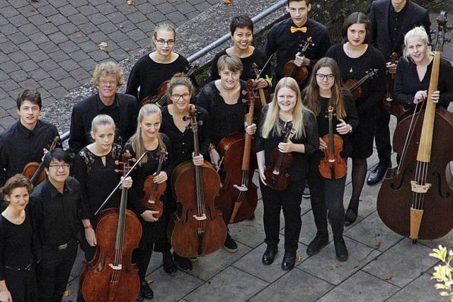 Landesjugend-Barockorchester am 6.Januar in der Friedenskirche