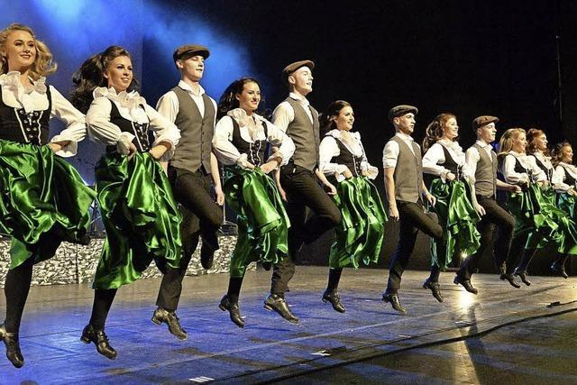Irischer Stepptanz im Gloria-Theater in Bad Säckingen