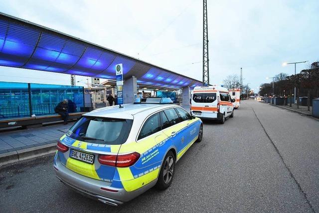 Polizei: Verletzung ist nicht lebensgefährlich