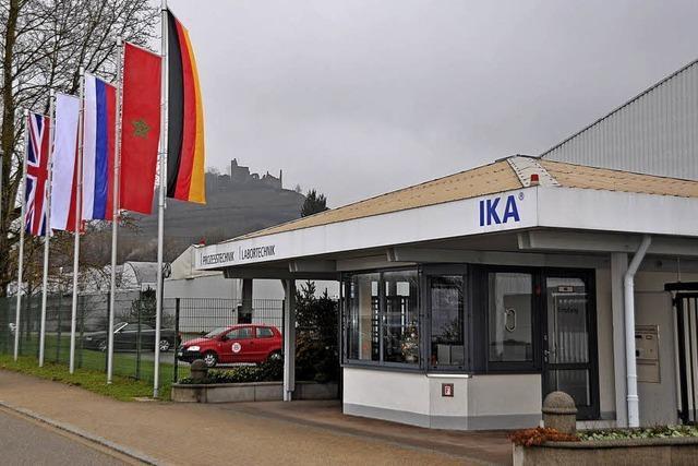 Die IKA-Werke – aus Staufen nicht wegzudenken