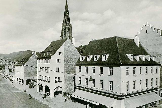 Freiburg Behelfsläden – manche davon existieren bis heute