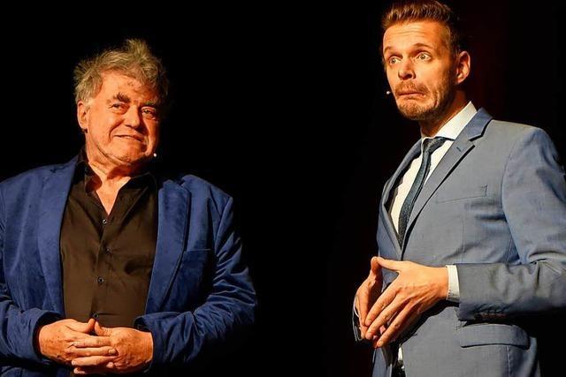 Florian Schroeder und Volkmar Staub sprechen über Heimat und gute Nachrichten
