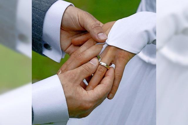 Heiraten ist wieder voll im Trend