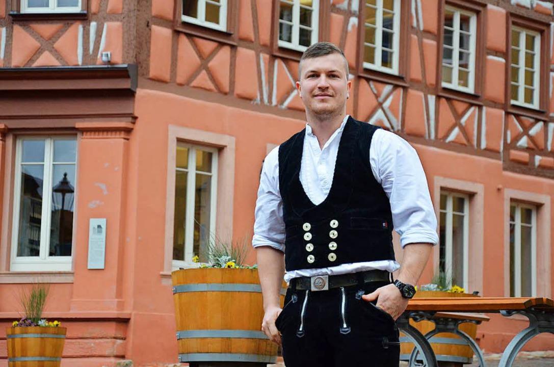 Zimmermeister Michael Henninger hat einen Förderpreis der AOK erhalten.  | Foto: Karl Kovacs