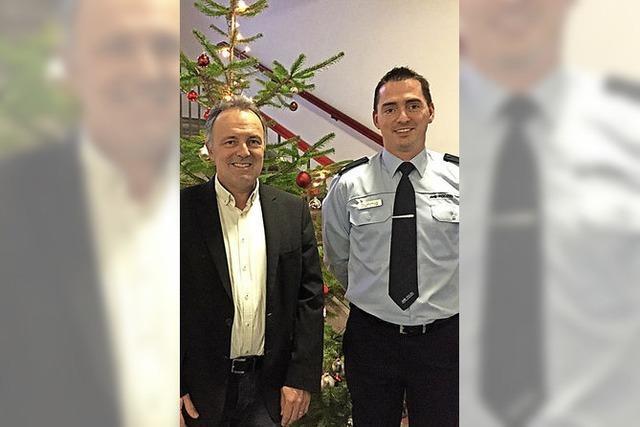 Besuch im Polizeirevier