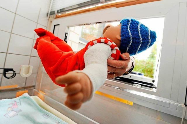 Spitäler Hochrhein GmbH prüft die Einrichtung einer Babyklappe