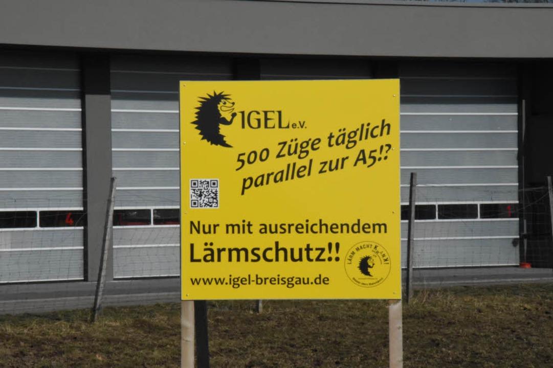 Bereits seit 2004 besteht die Initiati... von Teningen bis Freiburg-Rieselfeld.  | Foto: Jonas Hirt