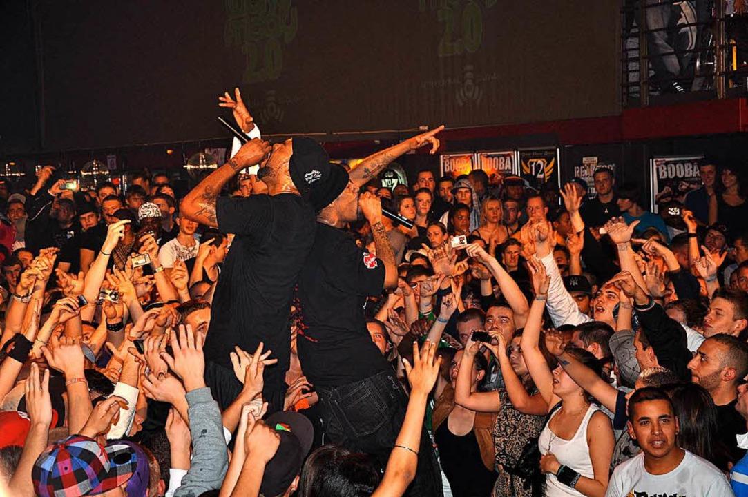 Die US-Rapper Method Man und Redman rockten das D.O.G. im Jahr 2010.    Foto: Karl Kovacs