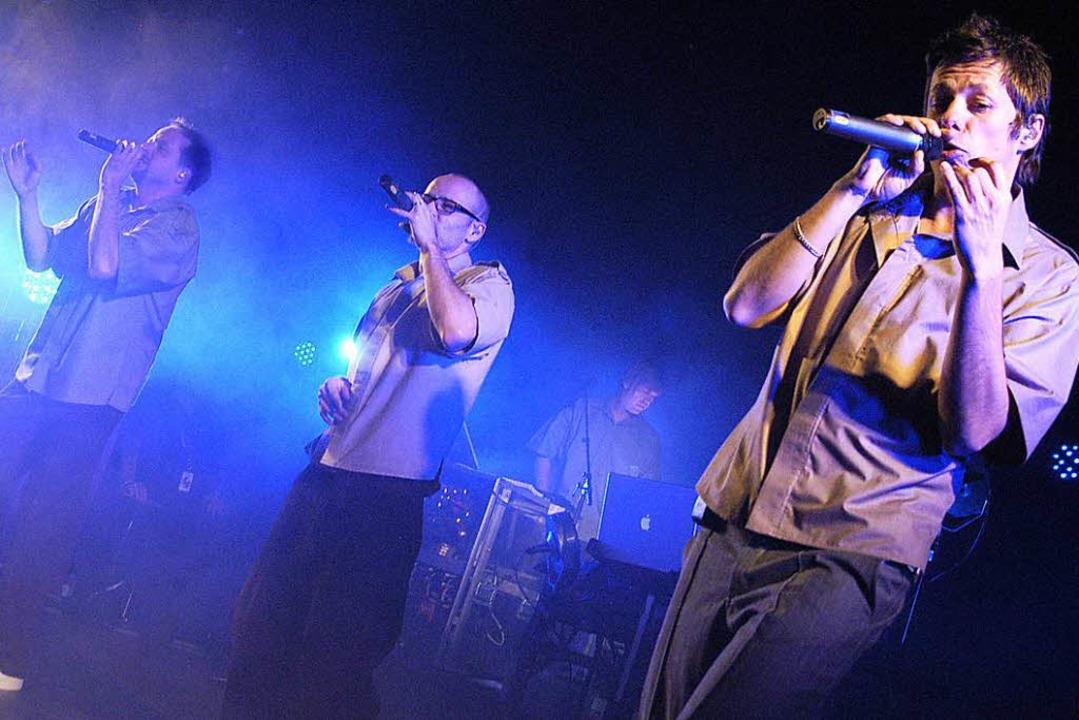 Die deutschen HipHop-Pioniere von den ...tanden Ende 2005 auf der D.O.G.-Bühne.    Foto: Michael Bamberger