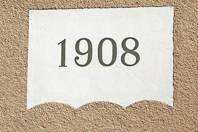 Bürgerstolz vor 110 Jahren