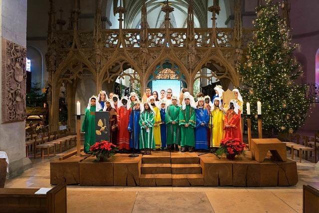 Auch in der Pfarrei St. Stephan sind am Wochenende die Sternsinger unterwegs