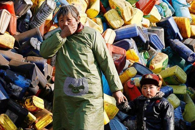 China stoppt den Import von Müll