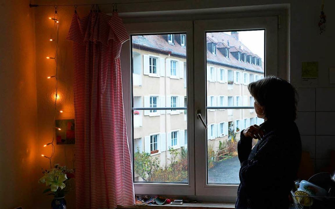 Blick aus einer Wohnung in der Quäkerstraße.  | Foto: Ingo Schneider