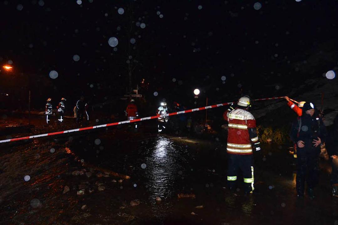 Hochwasser in Menzenschwand-Hinterdorf  | Foto: Claudia Renk