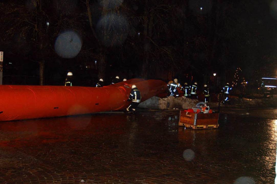 Hochwasser in Sankt Blasien  | Foto: Claudia Renk