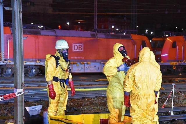 Gefahrgutunfall in Weil: Ermittler beschlagnahmen Tankcontainer
