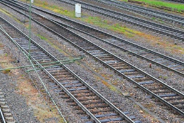 Bahn: Haltingen bekommt einen Erschütterungsschutz