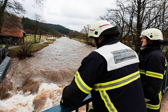 Gemeinden im Westen Freiburgs nicht von Hochwasser betroffen