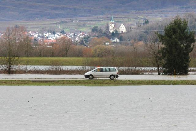 Hochwasser: Landkreis Emmendingen kommt glimpflich davon
