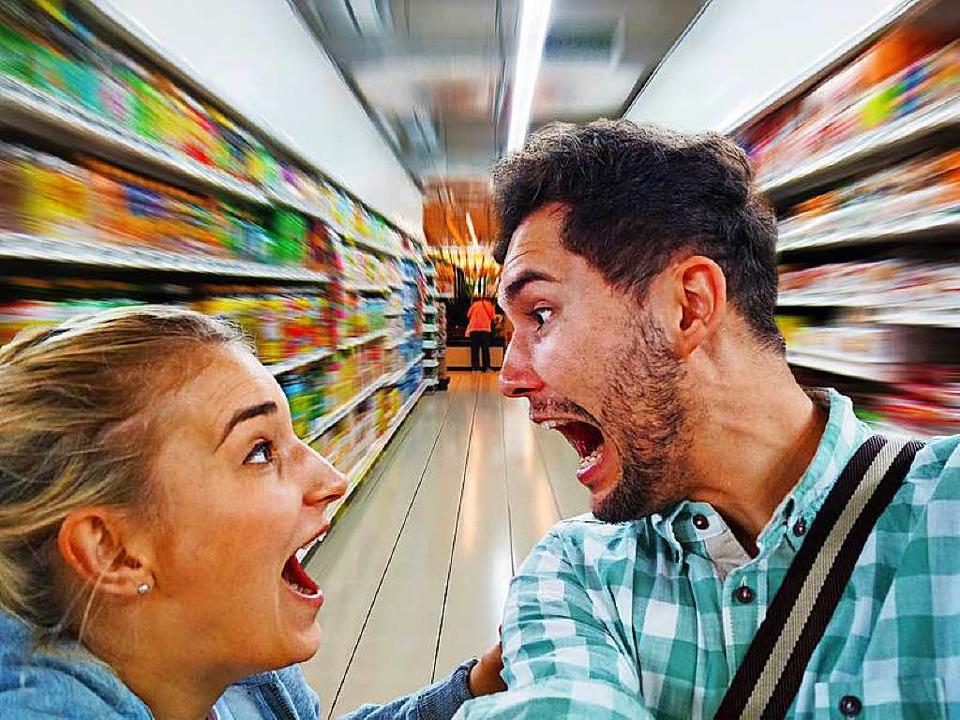 Gatten sollten loyal sein zu ihren Ehefrauen – nicht nur im Supermarkt!  | Foto: Jürgen Fälchle (Fotolia.com)