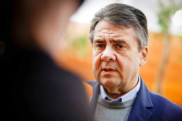 Sozialdemokraten fordern weitere Amtszeit Gabriels