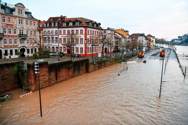 Rhein im Südwesten am Montag wieder frei für Schifffahrt