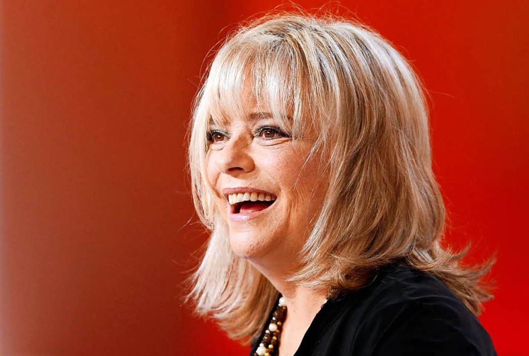 "France Gall 2012 in der Fernsehshow ""Le Grand Journal"".    Foto: AFP"
