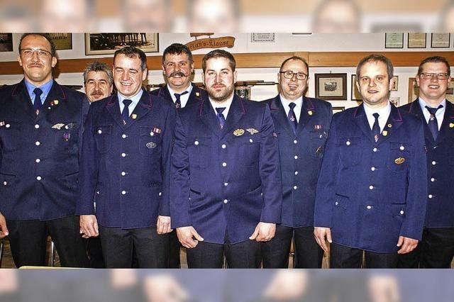 Neues Team bei Görwihler Feuerwehr
