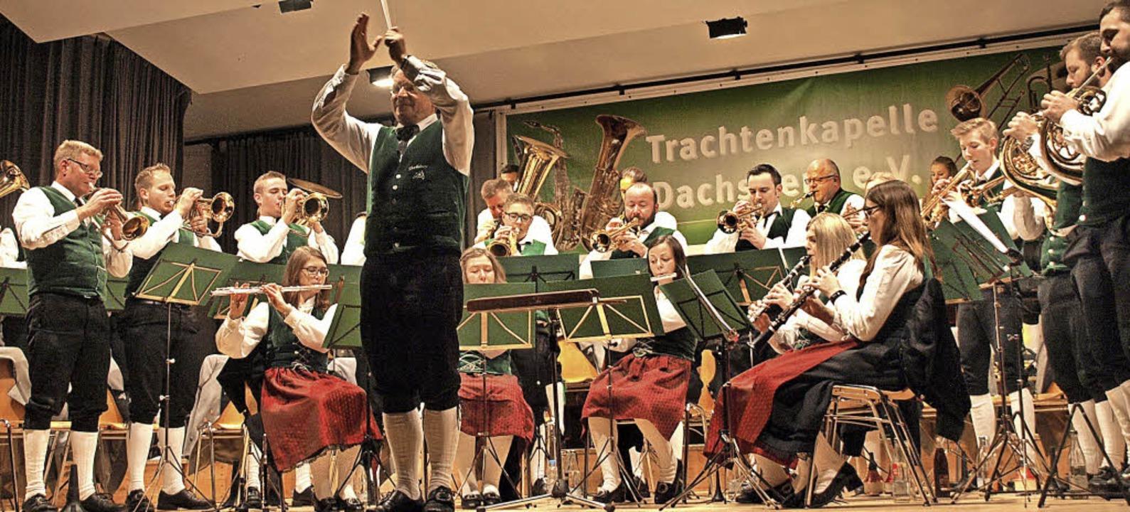 Etliche kleine Soloauftritte hatte das...für die vier Posaunisten des Ensembles  | Foto: Karin Stöckl-Steinebrunner