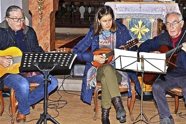 Besinnliche Stunden in der Kapelle auf dem Litzelberg