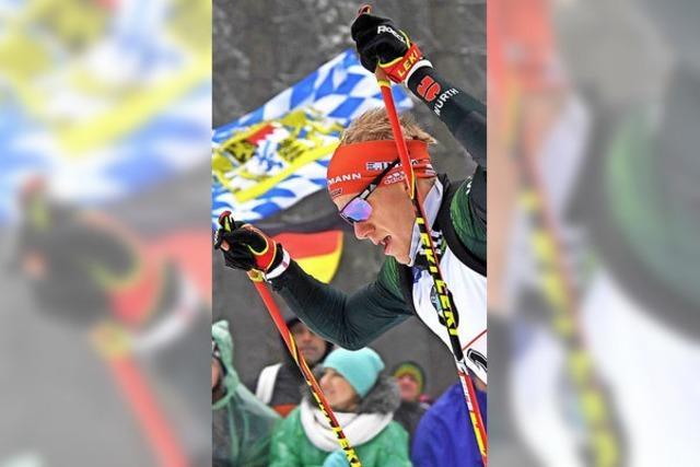 Versöhnlicher Abschluss beim Weltcup in Oberhof