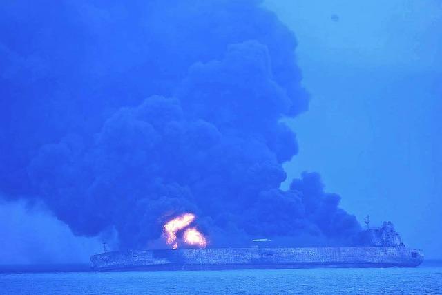 Fataler Crash auf hoher See