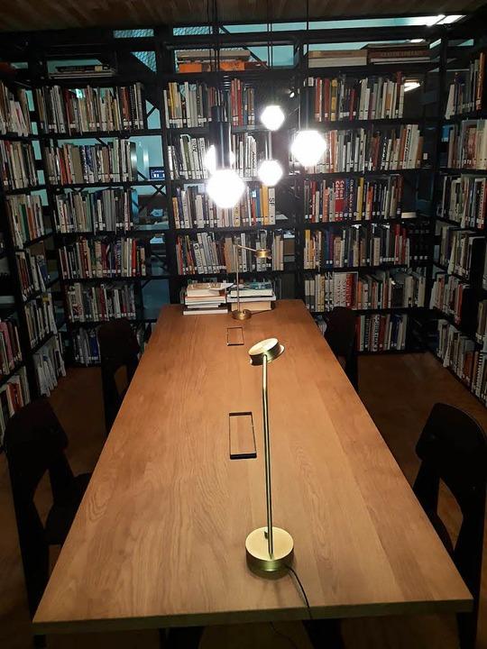 <ppp> </ppp>auch die Bibliothek.    Foto: Elena Bischoff